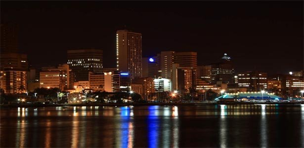 South Africa Night view